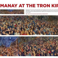 Hogmanay at the Tron Kirk - A1 poster