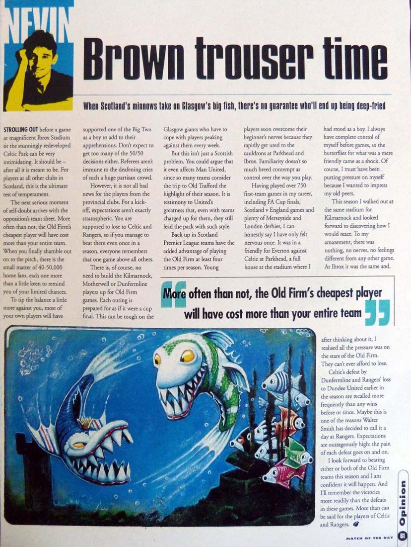 Match Of The Day magazine: Big Fish