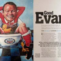 Rugby World magazine: Ieuan Evans