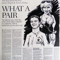 The Scotsman magazine: James Major & Emma Noble