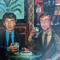 Noel & Liam Gallagher as The Likely Lads