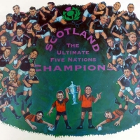 Scottish Rugby Union: Scotland Five Nations