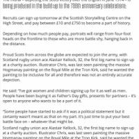 20/05/2014 Edinburgh Evening News