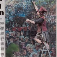 03/10/2016 Herald Scotland coverage of the Galashiels Gateway mural.