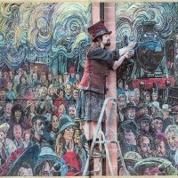 03/10/2016 The National newspaper's coverage of the Galashiels Gateway mural.