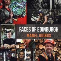 Faces Of Edinburgh by Manel Quiros - Book Cover & interior