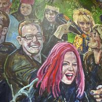 Scottish rock royalty: The Proclaimers, Shirley Manson and Rod Stewart enjoying the banter.