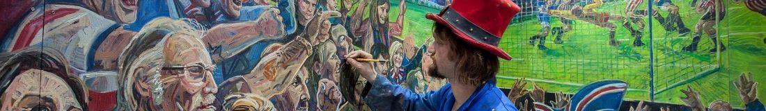 Bristol Bar Rangers Mural Project