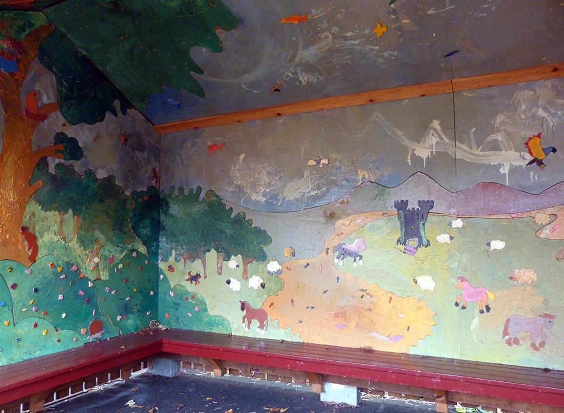 George Watson's College Lower Primary/Nursery Jigsaw Mural, 2010.