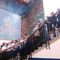 George Watson's College Upper Primary Stairwell Murals, 2017.