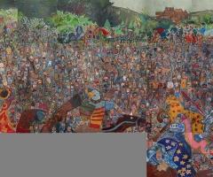 The final Bannockburn mural.