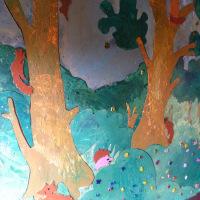 Tree detail.