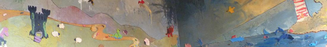 Jigsaw Mural