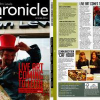 John Lewis magazine coverage of the project.