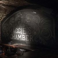 Maggie's Chamber in the Three Sisters bar in Edinburgh.