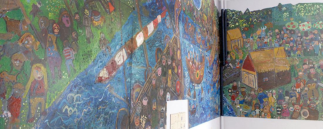 George Watson's College Upper Primary Murals