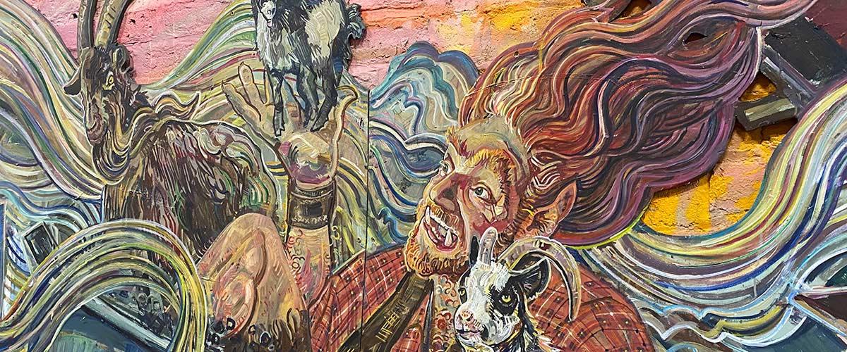Troll & Goats - Colinton Tunnel